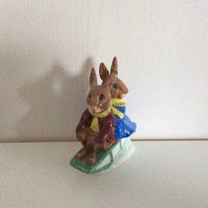 Sleigh Ride Bunnykins DB4