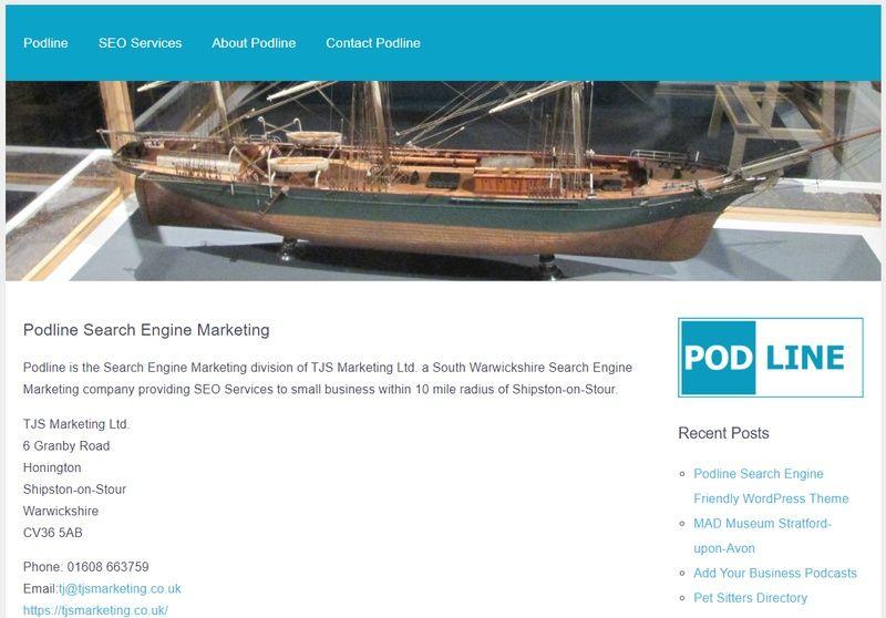 Podline Search Engine Friendly Websites